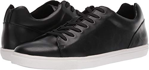 Low Leather Sneakers - Unlisted by Kenneth Cole Men's Stand Sneaker E, Black 9 M US