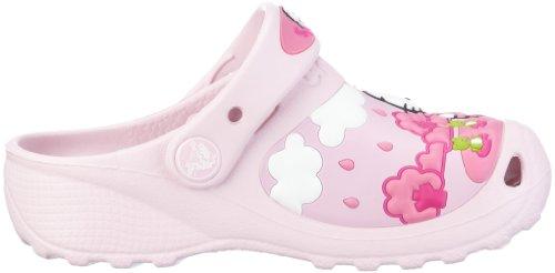 Para Fun Rain Sun Niñas eu Zuecos Crocs Clog Kitty pink Rosa Hello Custom Or gEpvp