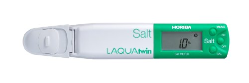 (HORIBA LAQUAtwin 3200456564 Model B-721 Compact Salt Meter)