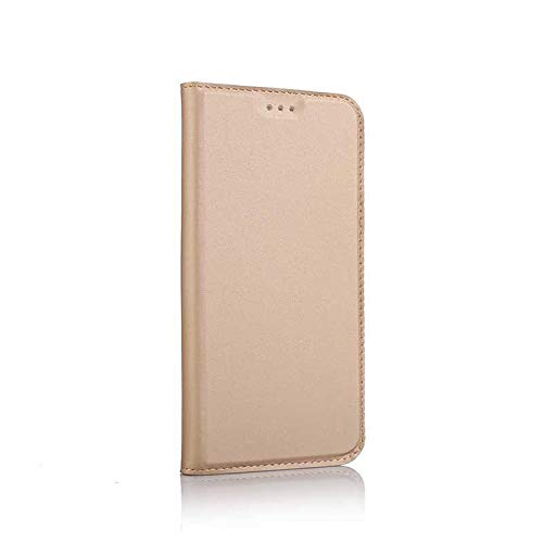 Huawei P10 Case, UNEXTATI Ultra Slim Wallet Flip Case with Card Holder and Magnetic Closure, Full Body Protection Bumper Cover for Huawei P10 (Gold #1) by UNEXTATI (Image #6)