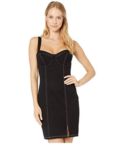 ASTR the label Women's ISLA Sleeveless Bustier Fitted Mini Dress, Black, L