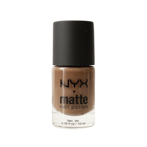 (NYX Professional Makeup Matte Nail Polish , Coffee ,  1.76 Ounce)