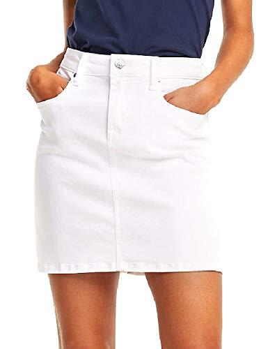 Denim Jupe Snwh Jeans Femme Tommy Regular Skirt RA54jL