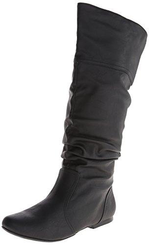 Qupid (Black Womens Boots)