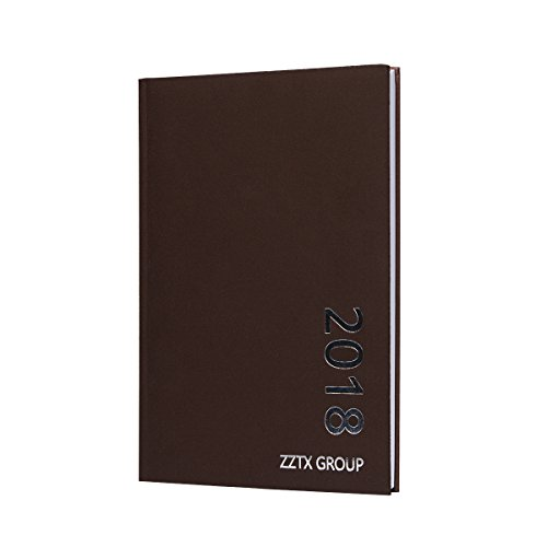 ZZTX 2018 Premium Classic Notebook Business Notebooks and Journals B5 Large Size Hardcover Notebook, 10.23 x 7.48 in, 150 Pages (Coffee)
