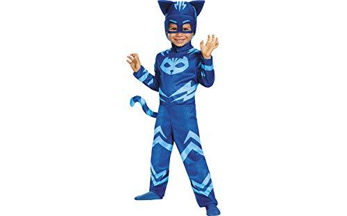 Catboy Classic Toddler PJ Masks Costume, Medium/3T-4T -