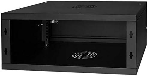 450MM Full Door Black Rack Cabinet 19 4U