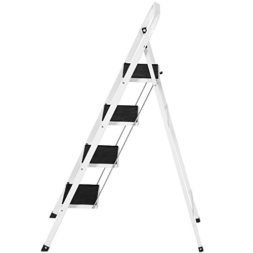 4 Step Ladder Steel Stool 300lb Heavy Duty Lightweight Portable Folding by Unknown (Image #2)