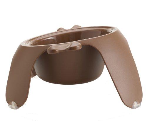Petego Yoga Pet Bowl, Large, Brown, My Pet Supplies