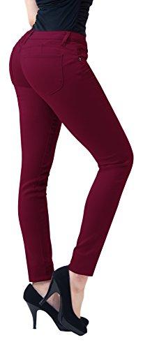 women color skinny jeans - 1
