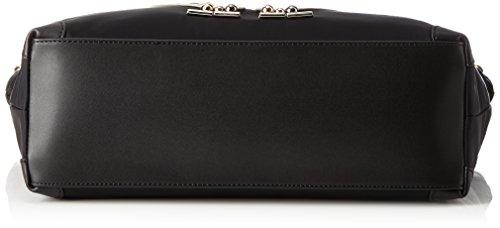 Braccialini - Keira, Shoppers y bolsos de hombro Mujer, Nero, 12x30x42 cm (W x H L)