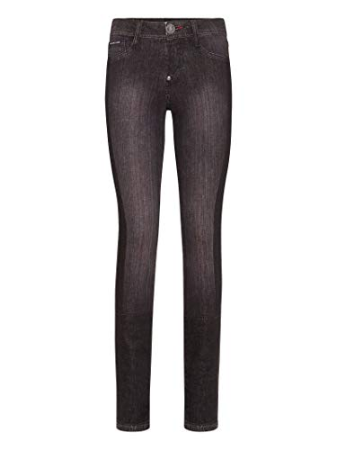 Donna Wdt0915pde004n10gt Jeans Plein Cotone Nero Philipp STqp7Zw