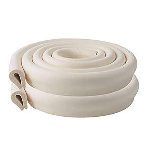 Vicloon Protezioni per Bordi, 2M * 2 Set Simpatico Rullo di Schiuma Protettiva Antiurto Bordi Protettivi Angoli delle… 31l2I149kkL. SS300