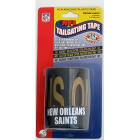 NFL New Orleans Saints Tailgating Tape