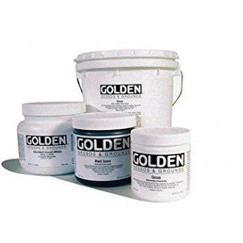 Golden Acrylic Gesso 16oz Jar