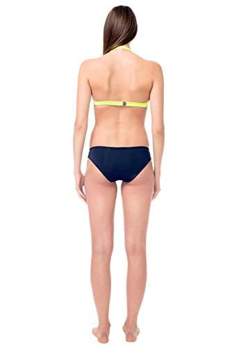 glidesoul Damen 105bt1020�?4(01) XXS Neckholder Bikini Top, Zitrone, 2x -small