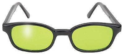 Original KD's Biker Motorcycle Sunglasses Various Colored Lenses Select Basic Lens Color: Green - Sunglasses Kd Biker