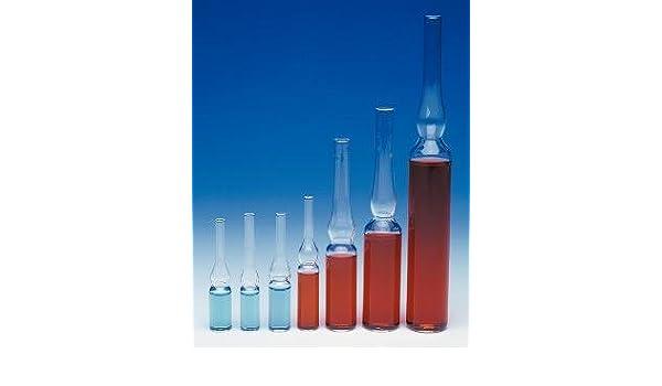 Case of 144 Wheaton 651463 Borosilicate Glass 1.2mL Cryule Cryogenic Ampule