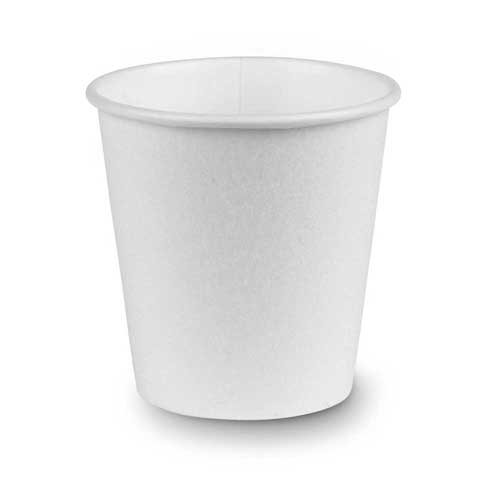PerfecTouch 10 Ounce Insulated Paper Cup Simply White -- 1000 per case.