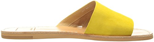 Suede Dolce Vita Slide Yellow Sandal Women's Cato nqTrqwOgxY