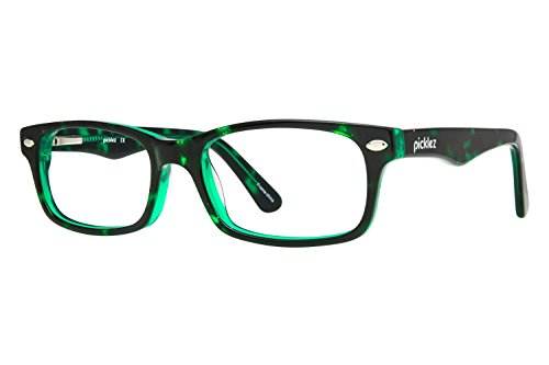 Picklez Spot Tortoise Childrens Eyeglass Frames - Tortoise/Green - Frames Brown Eyeglass