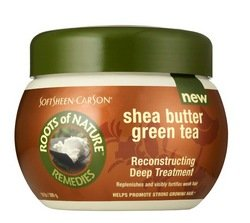 Roots Of Nature Reconstructing Deep Treatment With Green Tea and Shea Butter, 10 oz