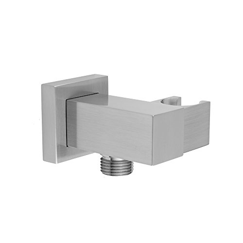 Jaclo 8757-ULB - CUBIX Water Supply Elbow with Adjustable Handshower Holder (Jaclo Water Supply Elbow)