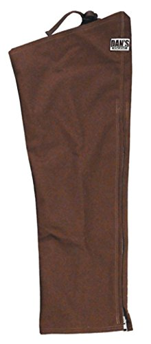 Brush Buster, Briarproof Protector Chaps, 1000 Denier, Unlined, Made in U.S.A. (M-26/28)