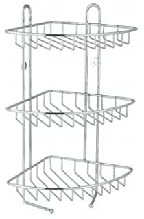 Stainless Steel 3 Tier Corner Shower Rack