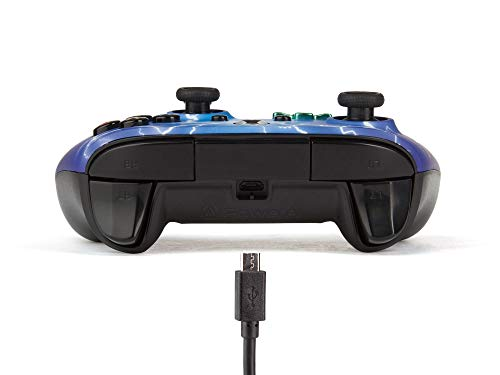 PowerA Enhanced Wired Controller for Xbox One - Spider Lightning 5