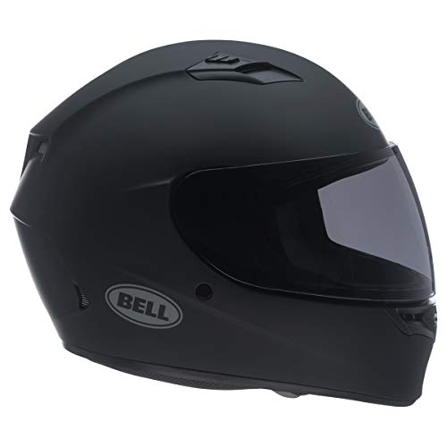 Bell Qualifier Full-Face Motorcycle Helmet (Solid Matte Black, Large) (7049224)