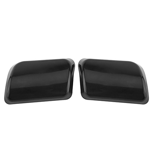 Headlight Washer Cover, Keenso Car Headlight Washer Nozzle Cover Cap for Volvo XC90 2003-2006 30698209 30698208