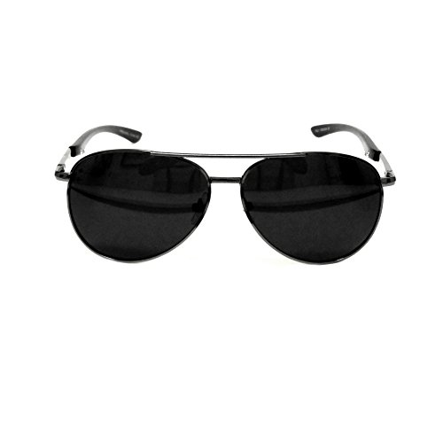 MFS-Aviators-Top Gun-140mm-(Polarized)-Gunmetal (Gunmetal Arms)