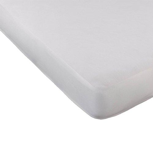 Mash - Cubrecolchón tencel (90 x 190 cm), color blanco Productos Kol