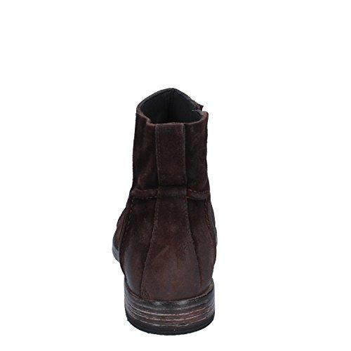 MOMA Botas de Ante Para Hombre Marrón Marrón Oscuro