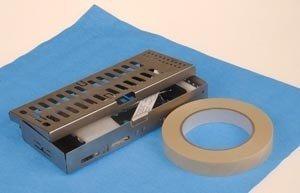 Crosstex SW18 CSR Sterilization Wrap, 18'' x 18'', Blue (Pack of 100)