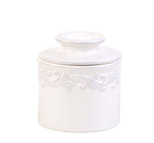 The Original Butter Bell Crock by L. Tremain, Antique Whi...
