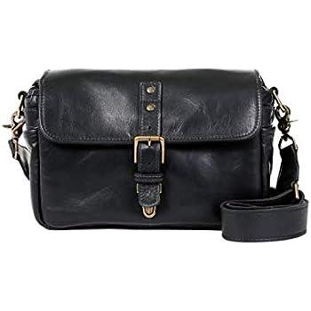 c691fd6ebf5 ONA - The Bowery - Camera Messenger Bag - Black Leather (ONA5-014LBL)