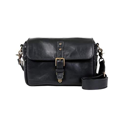 aec55c68447 Amazon.com : ONA - The Bowery - Camera Messenger Bag - Black Leather  (ONA5-014LBL) : Electronics