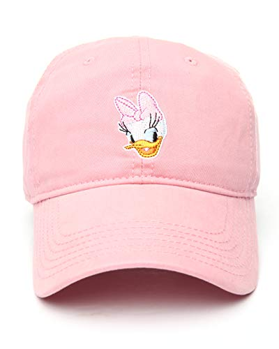 Disney Women's Daisy Duck Pink Adjustable Baseball -