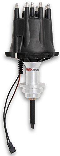 MSD Ignition 85345 Pro-Billet Distributor Small Block Chrysler 318-360 Black
