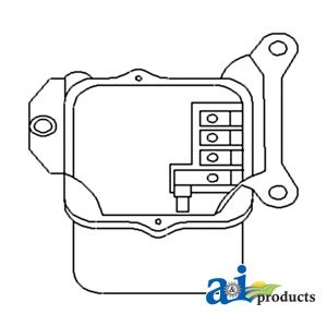 A&I - Voltage Regulator (12 Volt) (GAS & DIESEL W/ ALTERNATOR). PART NO: A-65...