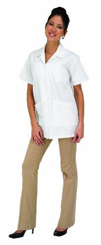 Betty Dain Professional Salon Esthetician/Lab Jacket, White, ()