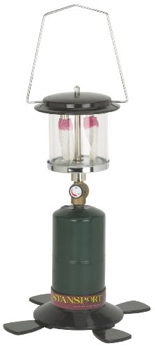 Stansport 2 Mantle Propane Lantern, Black by Stansport