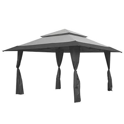 Amazon.com  Z-Shade 13 x 13 Foot Instant Gazebo Canopy Tent Outdoor Patio Shelter Gray  Garden u0026 Outdoor  sc 1 st  Amazon.com & Amazon.com : Z-Shade 13 x 13 Foot Instant Gazebo Canopy Tent Outdoor ...