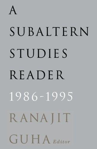 Subaltern Studies Reader, 1986-1995