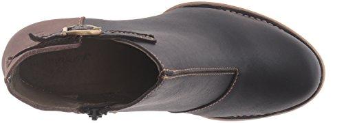 El Naturalista N472 Ibon Black-Plume/ Colibri, Botas Efecto Arrugado para Mujer Multicolor (BLACK-PLUME NUU)