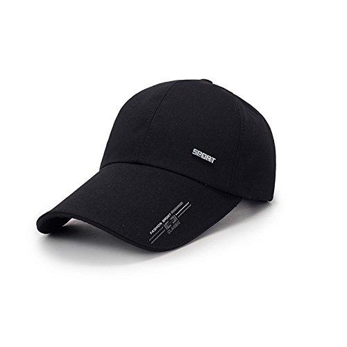 SLGJ Gorra de béisbol casual para hombre, estilo casual, con visera de moda para deportes al aire libre, gorra de sol