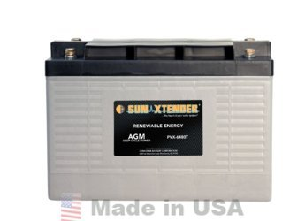 CONCORDE SUN XTENDER PVX-6480T, 2V, 648AH AGM BATTERY by CONCORDE
