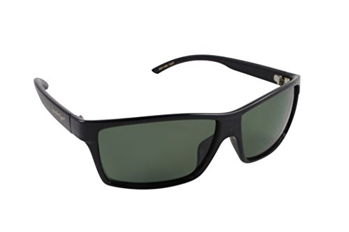 Islander Eyes Capri Polarized, Shiny Black Frame with Grey Lens, Solid ()